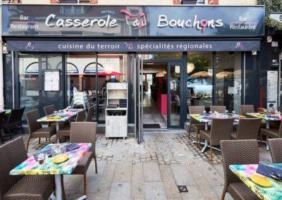 Restaurant à Ouistreham - Cuisine du terroir & Spécialités régionales - Terrasse - bar